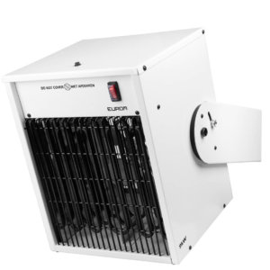 9kw ek9000 wall elektrischeheater werkplaats bouwplaats kachel verwarming instelbaar wandbevestiging