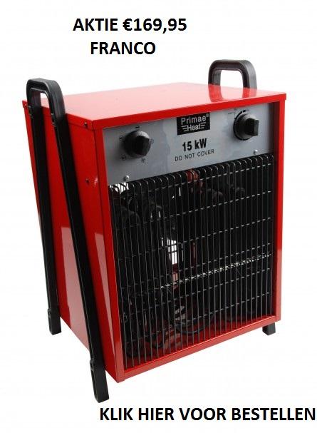 elektrische heater aktie