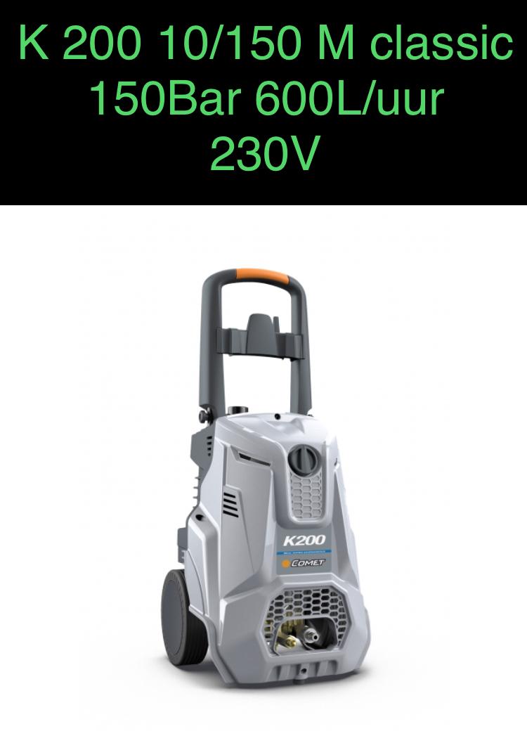 HOGEDRUKSPUIT K 200 10/150 M CLASSIC