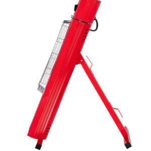 golden portable ind heater stralings warmte