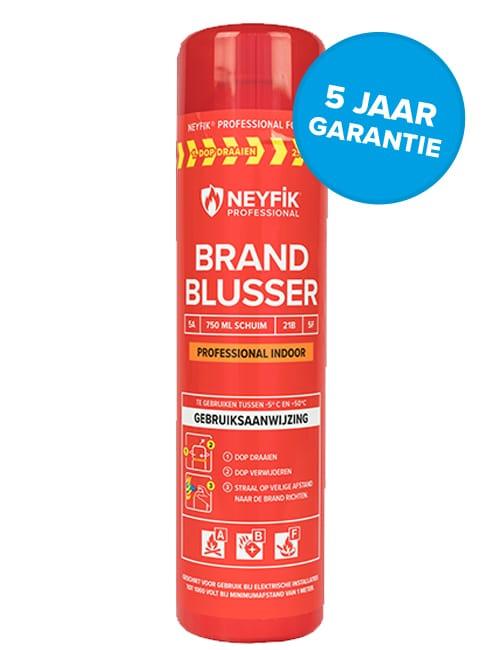 sprayblusser prof 5 jaar garantie