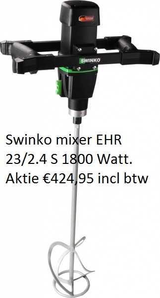 Swinko mixer EHR 23/2.4 S 1800 Watt
